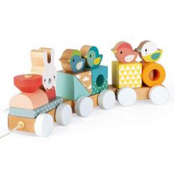 JANOD - Petit train (bois)