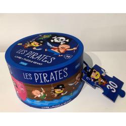 SASSI puzzle + livre pirates