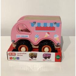 WA.WA camionnette rose  glace